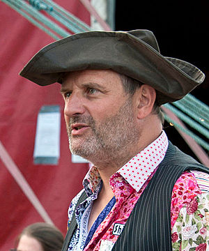 Mark Radcliffe - Radcliffe at the Under the Stars festival in 2014