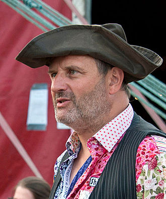 Mark Radcliffe (radio broadcaster) - Radcliffe at the Under the Stars festival in 2014