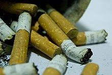 les effets de la cigarette