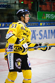 Marlo Koponen Finnish ice hockey player