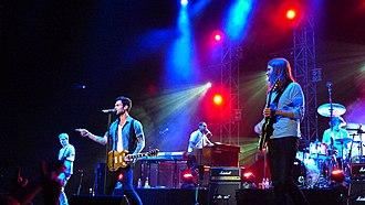 Maroon 5 - Maroon 5 performing in concert in 2011