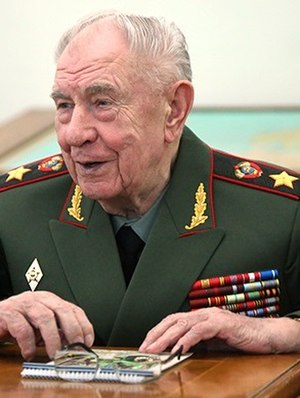 Dmitry Yazov - Marshal Yazov in 2013