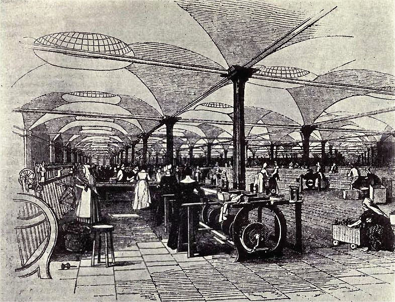 19th century Great Britain became the first global economic superpower, because of superior manufacturing technology and improved global communications such as steamships and railroads.