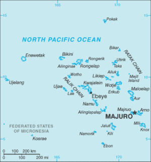 Geography of the Marshall Islands - Map of the Marshall Islands