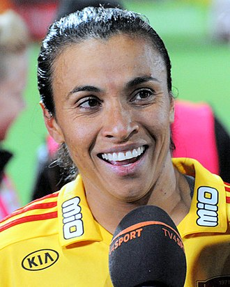FIFA World Player of the Year - Marta, the youngest recipient of the award aged 20, won it five times.