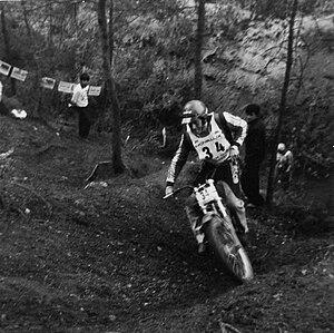 Martin Lampkin - Lampkin on a Bultaco Sherpa in 1978