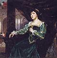 Mary Clémenceau, by Ferdinand Victor Léon Roybet.jpg