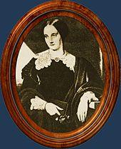 Mathilde Wesendonck, 1860, nach einem Porträt von C. Dorner (Quelle: Wikimedia)