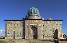 Mausoleum of Khoja Ahmed Yasawi in Hazrat-e Turkestan, Kazakhstan.jpg