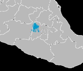 Mazahua language Oto-Pamean language of central Mexico