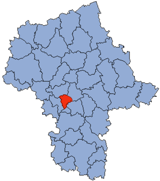 Pruszków County - Image: Mazowsze Pruszkowski