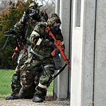 McConnell Reserve Security Forces Squadron conducts chemical warfare survival training 130406-F-BZ556-010.jpg