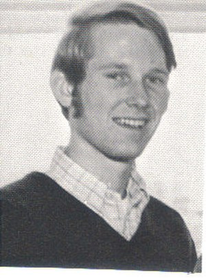 Jim McCrery - McCrery at 20 as president of the junior class at Louisiana Tech University