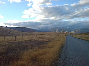 Mackenzie Basin - The Southern Alps form the northern and western boundaries of the basin.