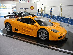 The only ever McLaren F1 XP-LM photographed at...