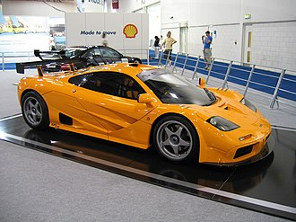 McLaren F1 LM - The McLaren F1 XP1 LM prototype on display