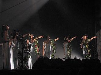 Mediæval Bæbes - Image: Mediæval Bæbes en concert
