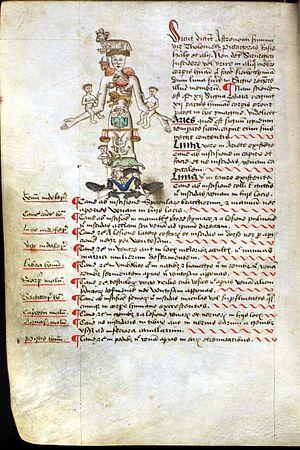 John Arderne - Image: Medical Zodiac Man