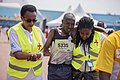 Medical personnel interventions at the Kigali peace marathon.jpg