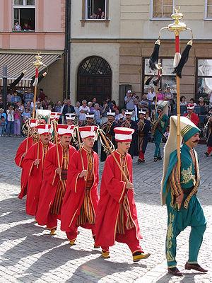 Ottoman military band.