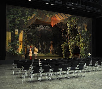 European Route of Historic Theatres - Meiningen Theatre Museum, setting: The Winter's Tale