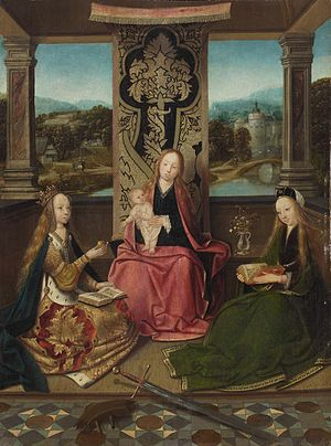 Antwerp Mannerism - Virgin and Child by the Master of Hoogstraeten