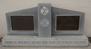 Attack on the SS Baton Rouge Victory - Vietnam Service. American Merchant Seamen who made the supreme sacrifice. San Francisco, includes men from the SS Baton Rouge Victory