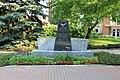 Memorial to Korean and VietNam War Veterans, Plymouth Community Veterans Park, Main ^ Church Streets, Plymouth, Michigan - panoramio.jpg