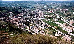 Mendrisio - Mendrisio in the early 70s