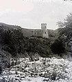 Menedékház a Tordai hasadék alsó végénénél, Szind és Mészkő községek között. Fortepan 86914.jpg