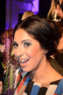 Meral Tasbas Swedish television personality, singer and actress of Turkish origin