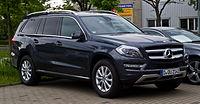 Mercedes-Benz GL 350 BlueTEC 4MATIC (X 166) – Frontansicht, 25. Mai 2013, Hilden.jpg