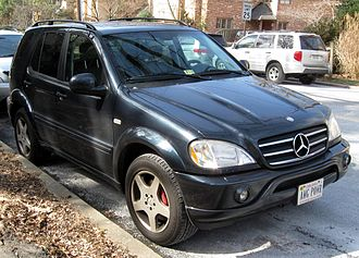 Mercedes-Benz M-Class - Mercedes-Benz ML 55 AMG (US)