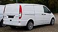 Mercedes-Benz Vito Kastenwagen Lang 122 CDI Effect (V 639, Facelift) – Heckansicht, 8. September 2013, Bösensell.jpg