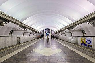 Chkalovskaya (Saint Petersburg Metro) - Station Hall