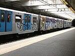 Metro di Roma - Marconi graffiti.JPG