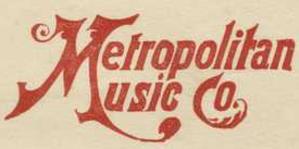 Metropolitan Music Co. (Minneapolis) - Image: Metropolitan Music Co logo (Minneapolis)
