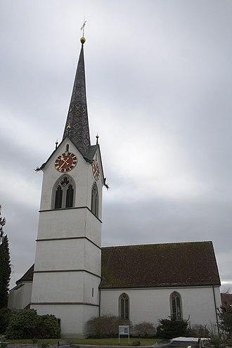 Mettmenstetten - Mettmenstetten church
