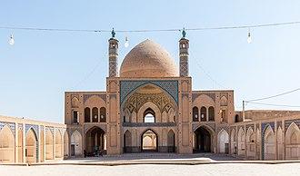 Agha Bozorg mosque - Image: Mezquita de Agha Bozorg, Kashan, Irán, 2016 09 19, DD 80