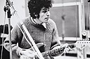 "Michael Bernard ""Mike"" Bloomfield (July 28, 1943 – February 15, 1981), American musician, guitarist and composer. Photograph by Elliot Landy, circa 1960.jpg"