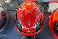 Michael Schumacher 2012 Brazilian GP helmet top 2019 Michael Schumacher Private Collection.jpg