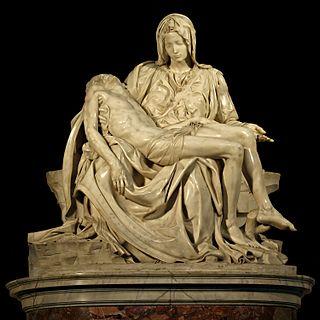 <i>Pietà</i> (Michelangelo) Sculpture by Michelangelo