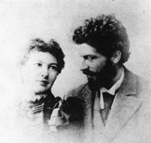 Michele Besso and his wife.jpg