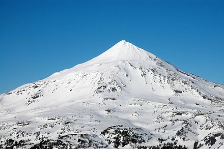 Middle Sister is cone-shaped. Middle Sister from the north.jpg