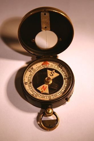 Compass - A military compass that was used during World War I