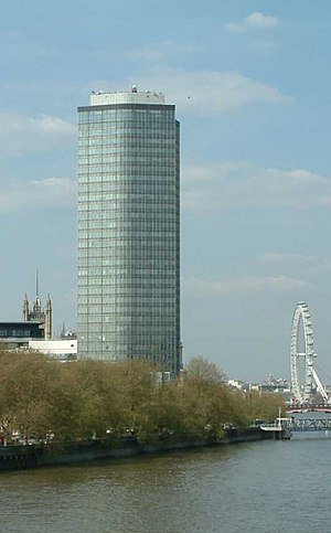 Millbank Tower - Image: Millbank Tower Millbank Westminster London 240404