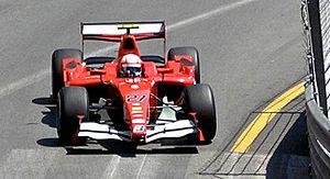 Ocean Racing Technology - Miloš Pavlović driving for BCN at the Monaco round of the 2008 GP2 Series season.