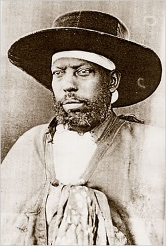 Menelik II - Portrait of Menelik II