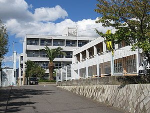 Minoh City Daisan junior high school.jpg
