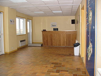 Miquelon Airport - Image: Miquelon Airport Check in